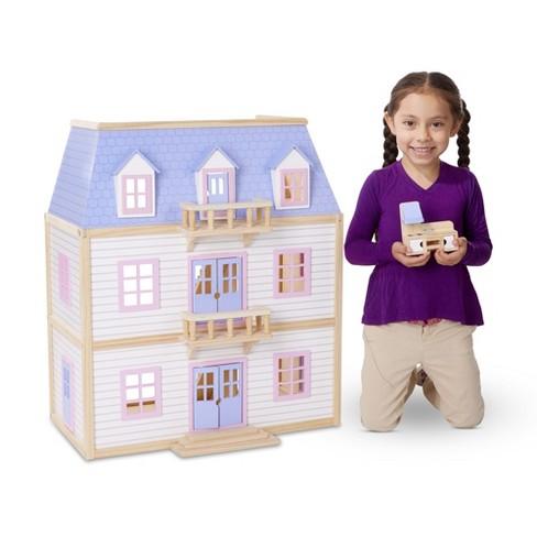 Melissa Doug Multi Level Dollhouse