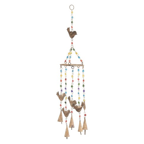 "34""H Iron Wind Chime - Olivia & May - image 1 of 2"
