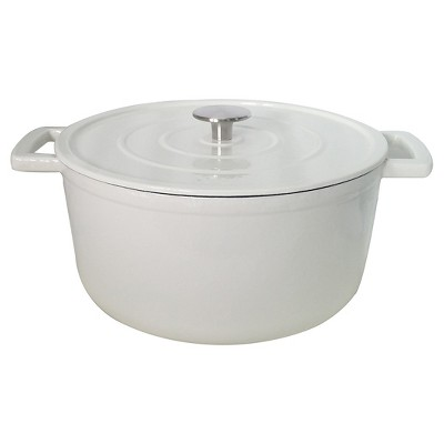 Cast Iron Dutch Oven - White (3 qt)- Threshold™