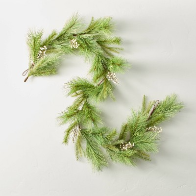 Faux Needle Pine with Snowberries Plant Garland - Hearth & Hand™ with Magnolia