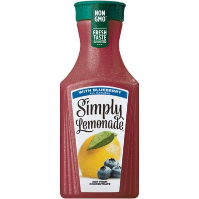 Simply Lemonade with Blueberry Natural Fruit Drink - 52 fl oz