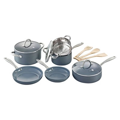 GreenPan Lima 12pc Ceramic Nonstick Cookware Set