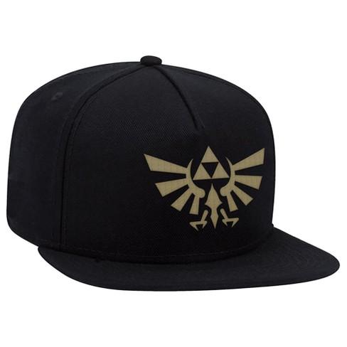 00ef7a7c5 The Legend of Zelda: Hyrule Crest Brimmed Hat - Black/Gold