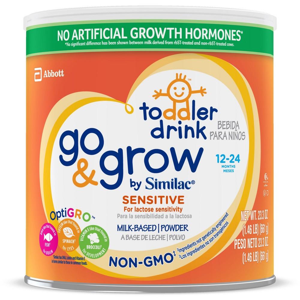Similac Go & Grow Sensitive Non-Gmo Toddler Formula - 24oz
