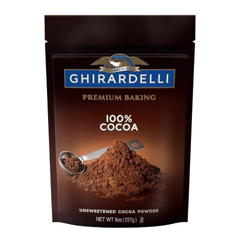 Ghirardelli Unsweetened Cocoa - 8oz - image 1 of 4