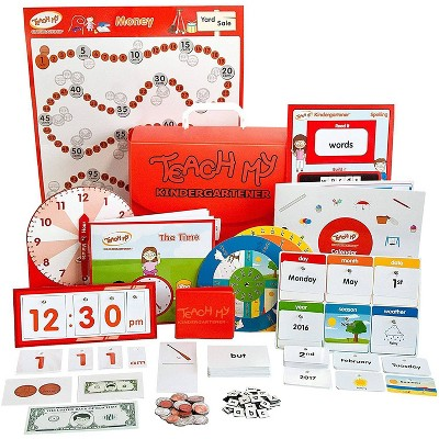 Teach My Kindergartener Learning Kit - Deluxe