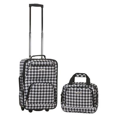 Rockland Rio 2pc Carry On Luggage Set - Kensington
