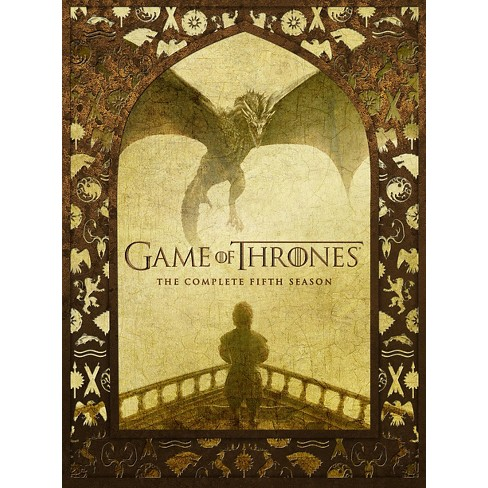 game of thrones the complete fifth season 5 discs target. Black Bedroom Furniture Sets. Home Design Ideas