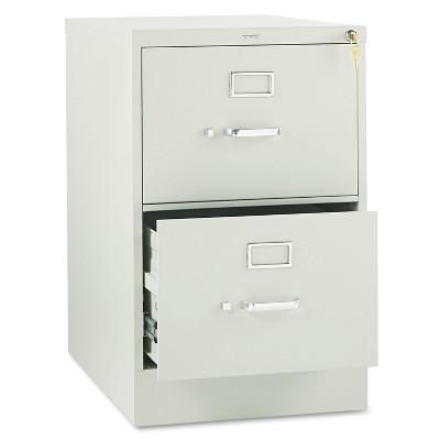 HON 310 Series Two-Drawer Full-Suspension File Legal 26-1/2d Light Gray 312CPQ