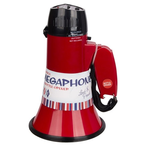 Wemco™ Megaphone With Bottle Opener - Red - image 1 of 3