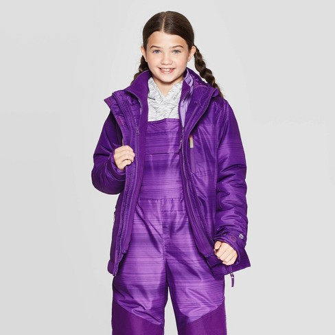 Girls' 3-in-1 System Jacket - C9 Champion®  - image 1 of 4