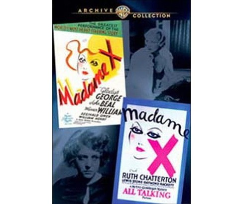 Wac dbl features:Madame x 1929 & 1937 (DVD) - image 1 of 1