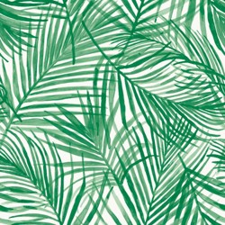 Devine Tropical Wallpaper Green - Devine Color