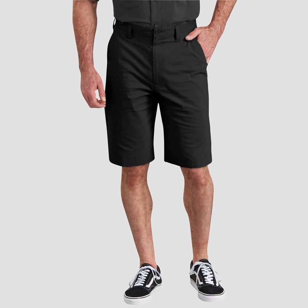 Dickies Men 39 S 11 34 Regular Fit Performance Cargo Shorts Black 36