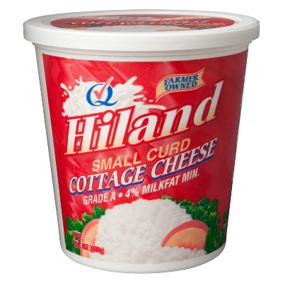 Hiland Small Curd Cottage Cheese - 24oz