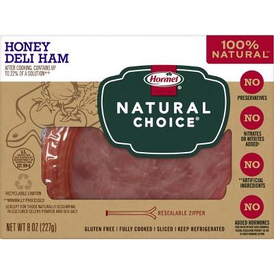 Hormel Natural Choice Sliced Honey Deli Ham - 8oz