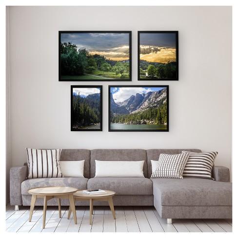 Poster Frame 1 Profile Black 18x24 Room Essentials Target