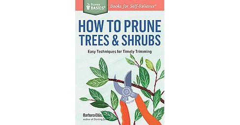 How to Prune Trees & Shrubs : Easy Techniques for Timely Trimming (Paperback) (Barbara W. Ellis) - image 1 of 1