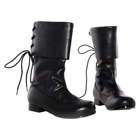 7513c3414 Halloween Girls  Sparrow Boots Black Costume   Target