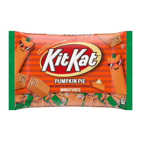 Kit Kat Halloween Pumpkin Pie Candy - 9.7oz - image 1 of 3