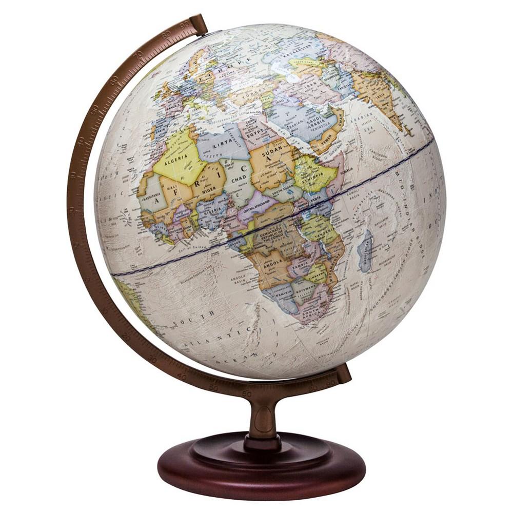 Waypoint Geographic Ambassador II Illuminated Desktop Globe, Neutral