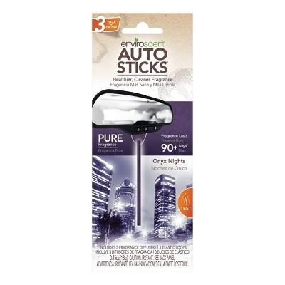 Enviroscent 3pc Car Air Freshener Onyx Night