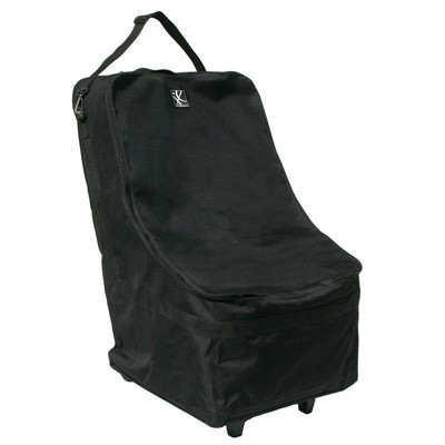JL Childress Wheelie Car Seat Travel Bag, Black
