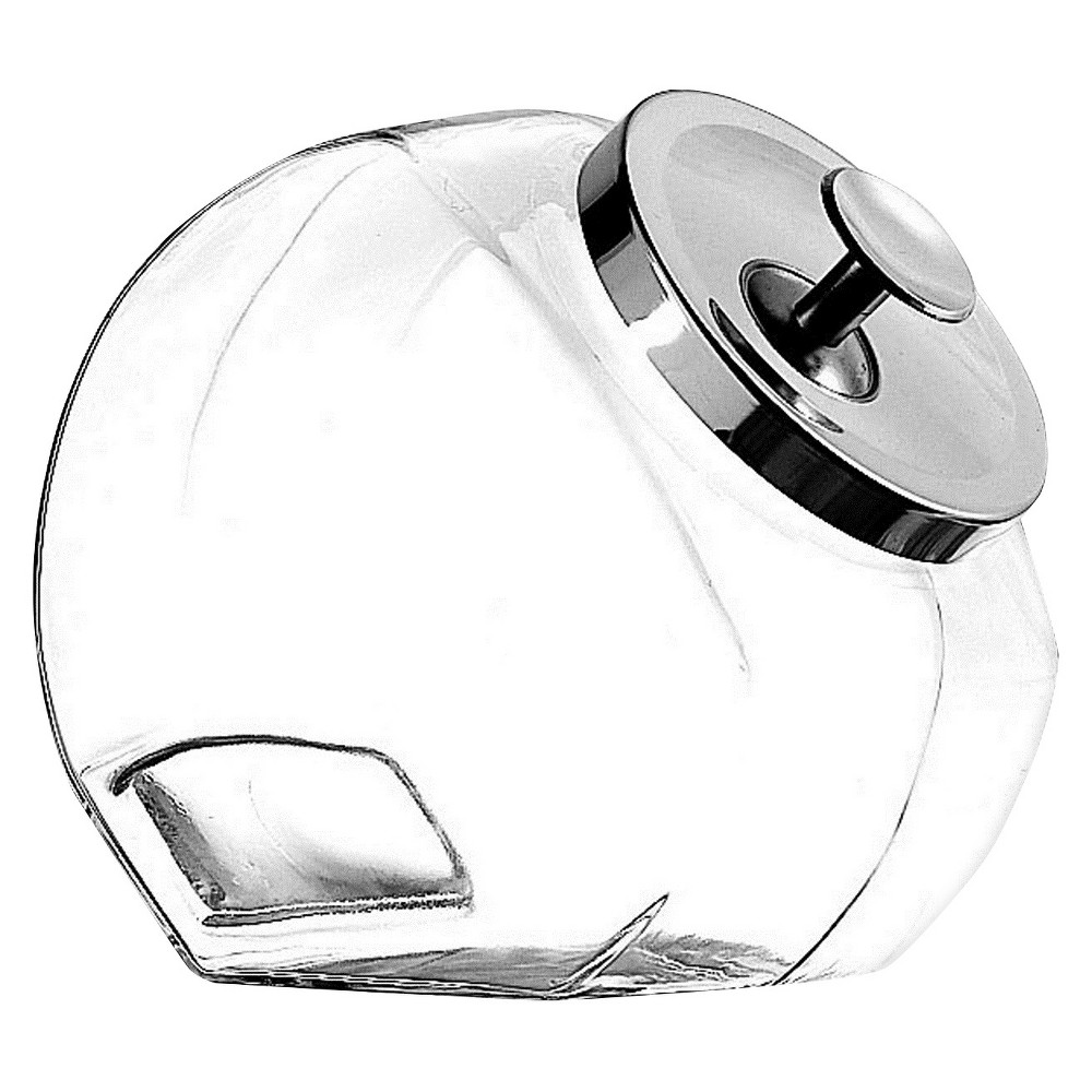 Image of Anchor Hocking Glass Penny Jar, Clear