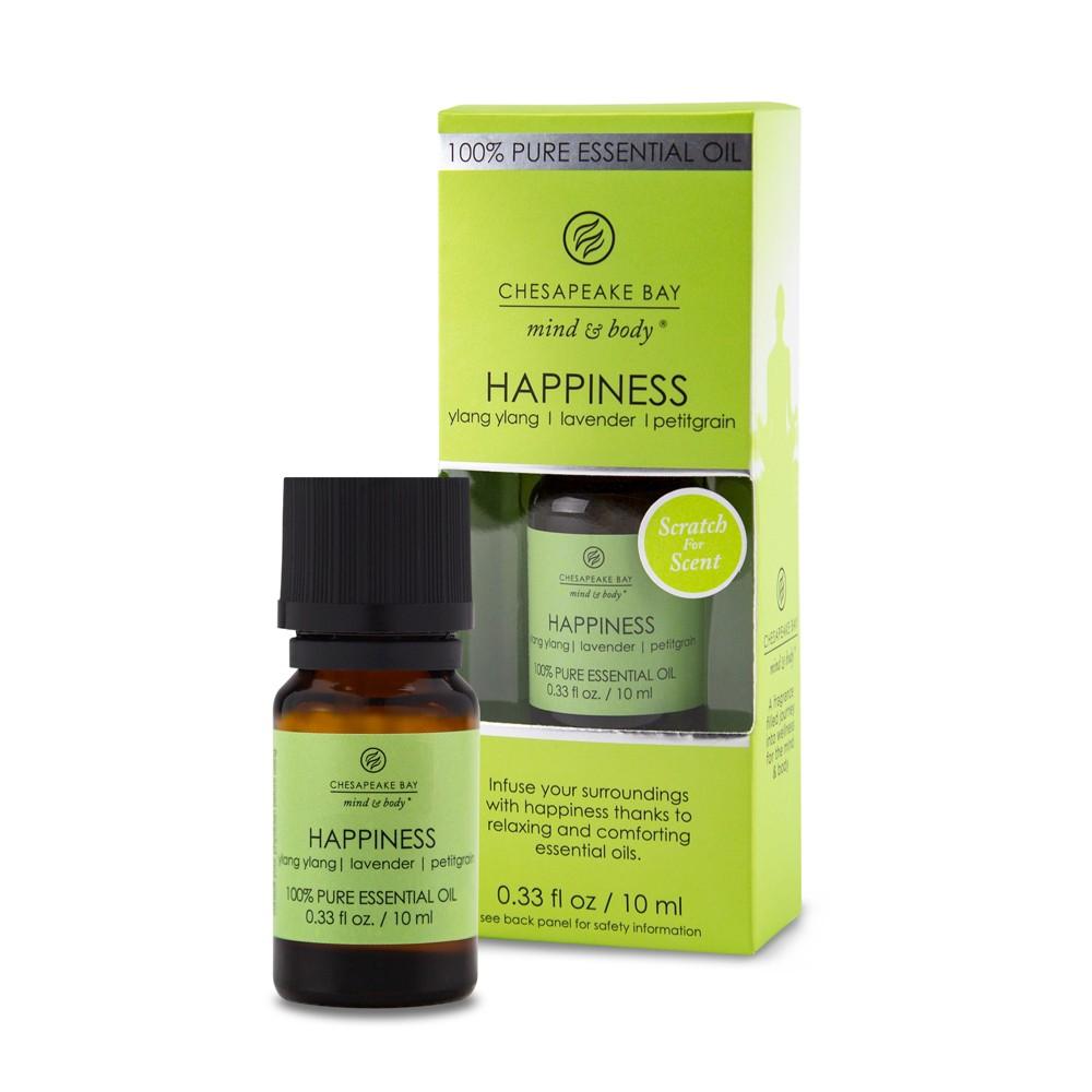 Image of 0.33oz Essential Oil Happiness Ylang Ylang/Lavender/Pettitgrain - Chesapeake Bay Candle, Orange