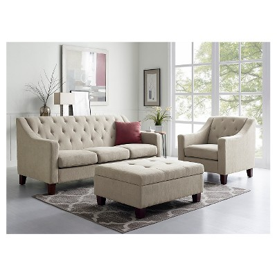 felton tufted sofa threshold target rh target com tufted sofa living room ideas grey tufted sofa living room