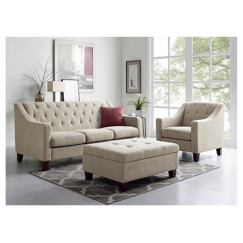 Felton Tufted Sofa - Threshold™ : Target