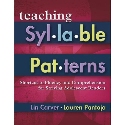 Teaching Syllable Patterns - (Maupin House) by  Lin Carver & Lauren Pantoja (Mixed media product) - image 1 of 1