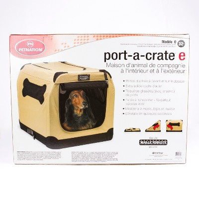 PetNation Port-A-Crate 32 Inches, Indoor And Outdoor Home For Pets