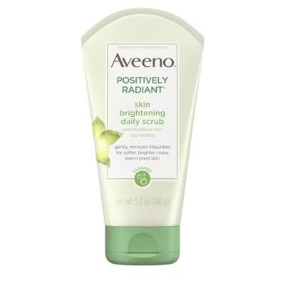 Aveeno Positively Radiant Skin Brightening Daily Scrub- 5oz