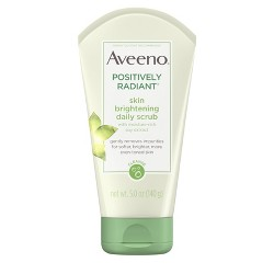Aveeno Positively Radiant Skin Brightening Daily Scrub- 5oz