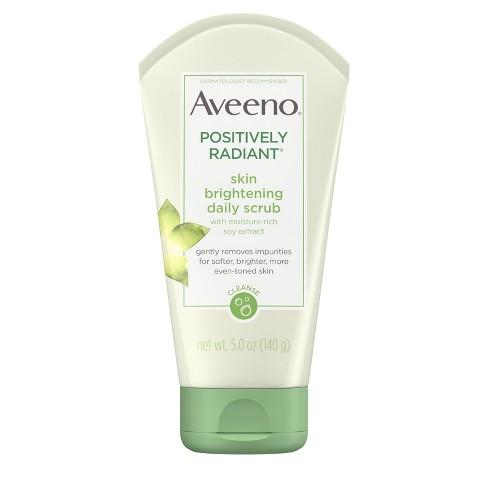 7b6dceae0f369 Aveeno Positively Radiant Skin Brightening Daily Scrub- 5oz