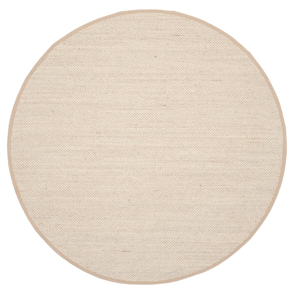 Natural Fiber Rug - Marble/Linen - (6'x6' Round) - Safavieh