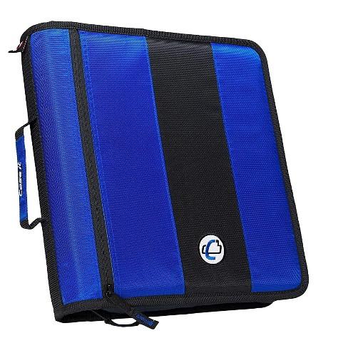 Case It Case-it Classic 2 3-Ring Zipper Binder, Blue D251 - image 1 of 1