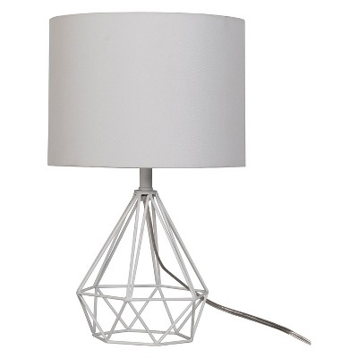 Entenza Wire Table Lamp White - Project 62™