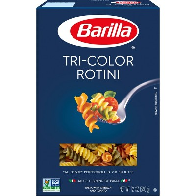 Barilla Tri-Color Rotini - 12oz