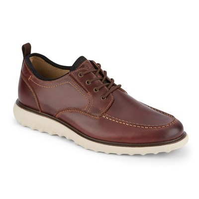 Dockers Mens Livingstone Leather SMART SERIES Dress Casual Oxford Shoe