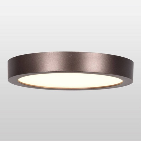 Ulko Exterior Large Round Led Flush Mount Outdoor Ceiling