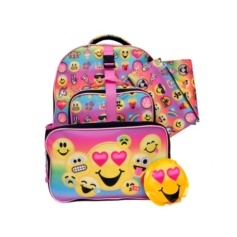 "Emojination 16"" Kids' Backpack - 7pc Set - image 1 of 16"