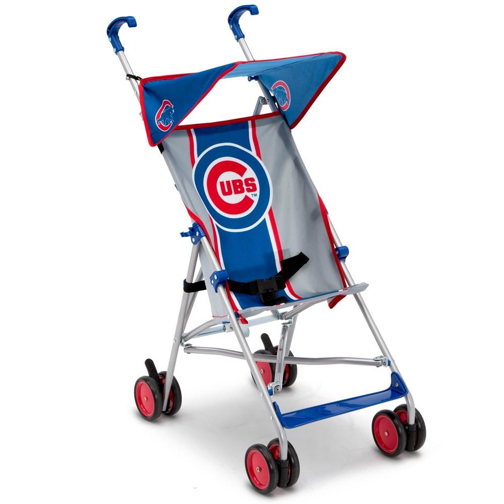 Delta Children MLB Chicago Cubs Lightweight Umbrella Stro...