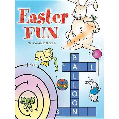 - Easter Fun Coloring Book - (Dover Holiday Coloring Book) By Suzanne Ross  (Paperback) : Target