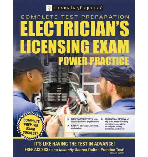 Electrical Licensing Exam Power Practice (Paperback) - image 1 of 1