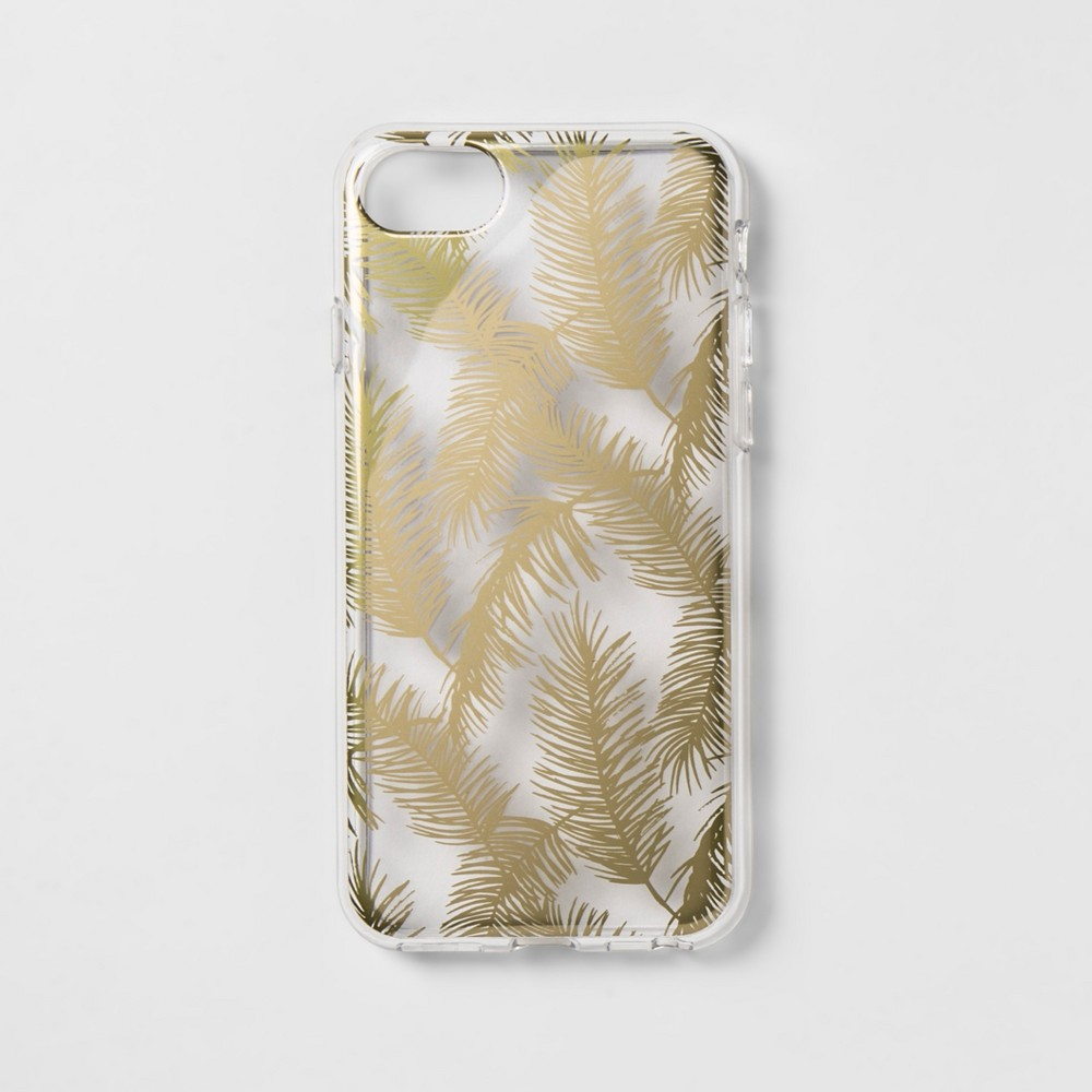 heyday Apple iPhone 8/7/6s/6 Case - Gold Feathers
