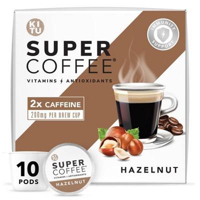 KITU Super Hazelnut Medium Roast Coffee - Single Serve Pods - 10ct