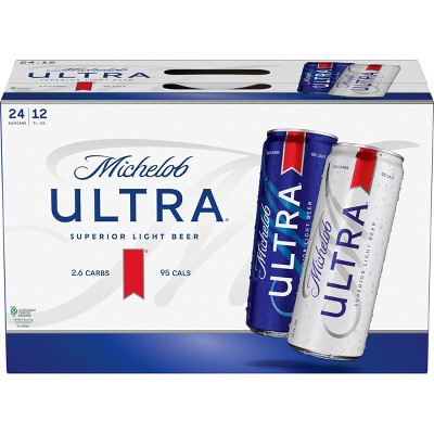 Michelob Ultra Superior Light Beer - 24pk/12 fl oz Cans