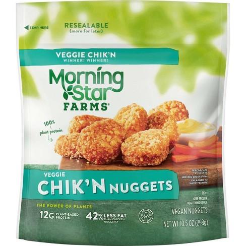 Morningstar Farms Classic Frozen Veggie Chik'n Nuggets - 10.5oz - image 1 of 4